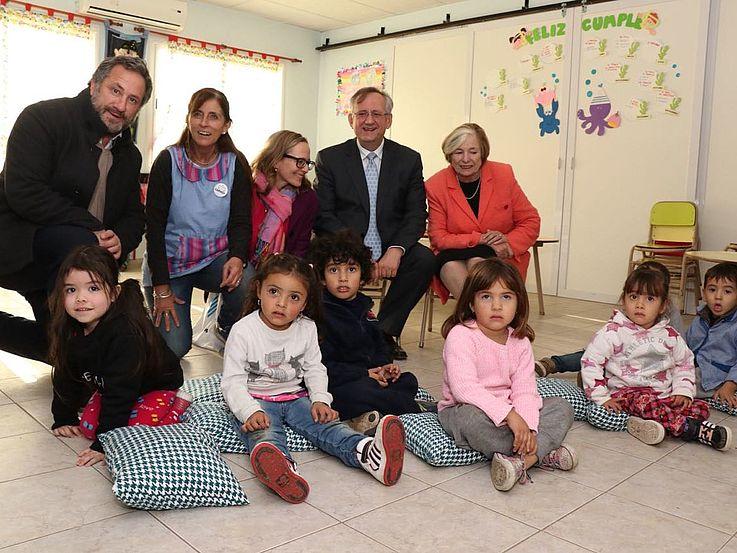Visita de la Presidente de la Fundacion Hanns Seidel en Argentina