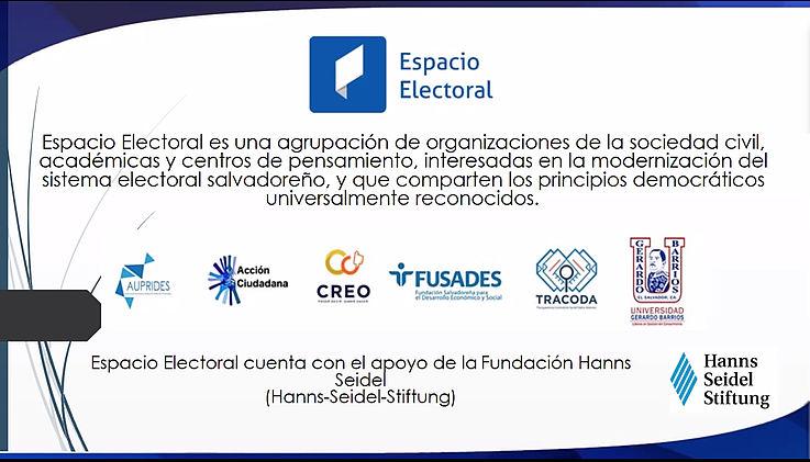 """Lanzamiento oficial de """"Espacio Electoral"""""""