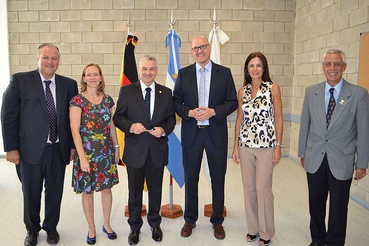 Cooperación Internacional Policial: visita del Superintendente Gerhard Holzinger