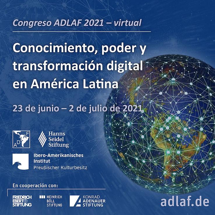 Congreso #ADLAF2021: Conocimiento, poder y transformación digital en América Latina