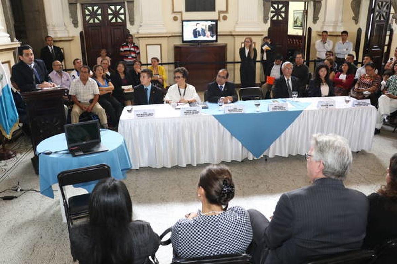 Lanzamiento del Parlamento Juvenil de Guatemala 2017
