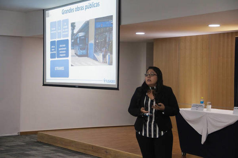 Presentación de Luisa Solano, Departamento de Estudios Políticos de FUSADES
