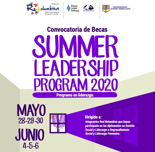 Summer Leadership Program 2020: Conectados desde casa