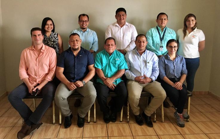 En nuestra visita de campo recorrimos diversos municipios del departamento de San Vicente