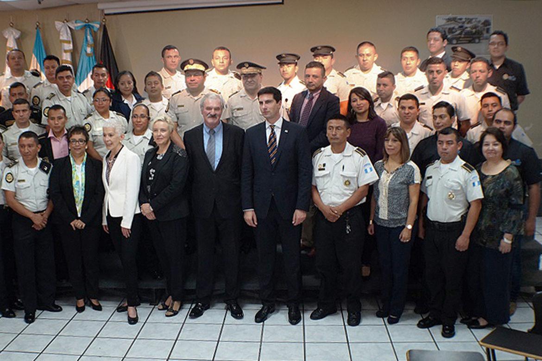 """Fotografía de Inauguración del Diplomado """"Certificación en Diseño Curricular"""" de la Comisión Nacional de la Reforma Policial"""