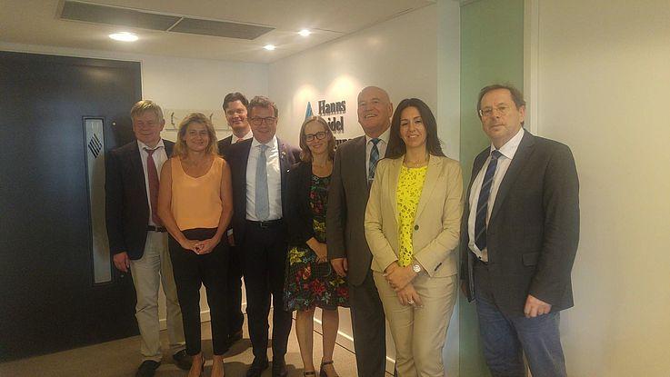 Visita de la Delegación Parlamentaria de la Unión Social Cristiana de Baviera