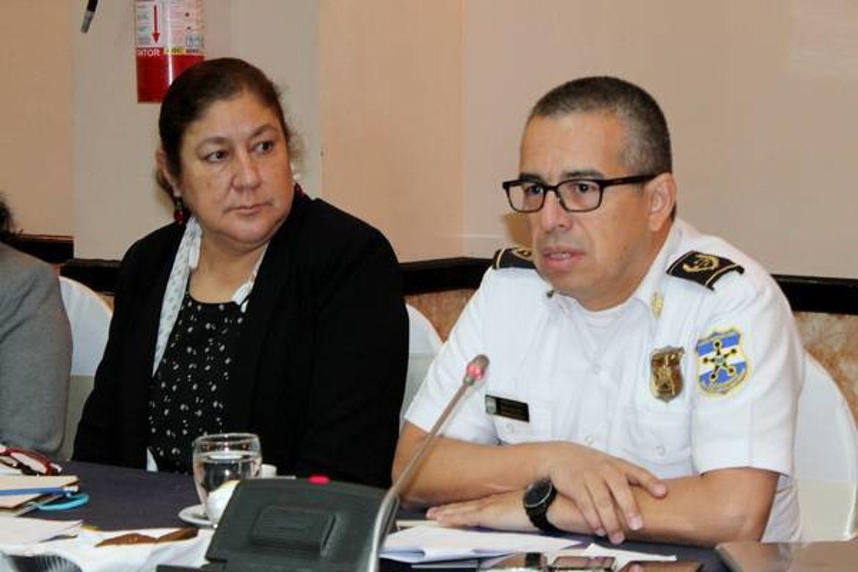 Howard Cotto, Director General de la Policia Nacional Civil de El Salvador