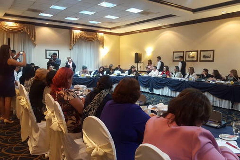 Funcionarias y Funcionarios del Sector Justicia y del Ministerio Público en la Instalación de los Tribunales Especializados para una vida libre de violencia y discriminación para las mujeres