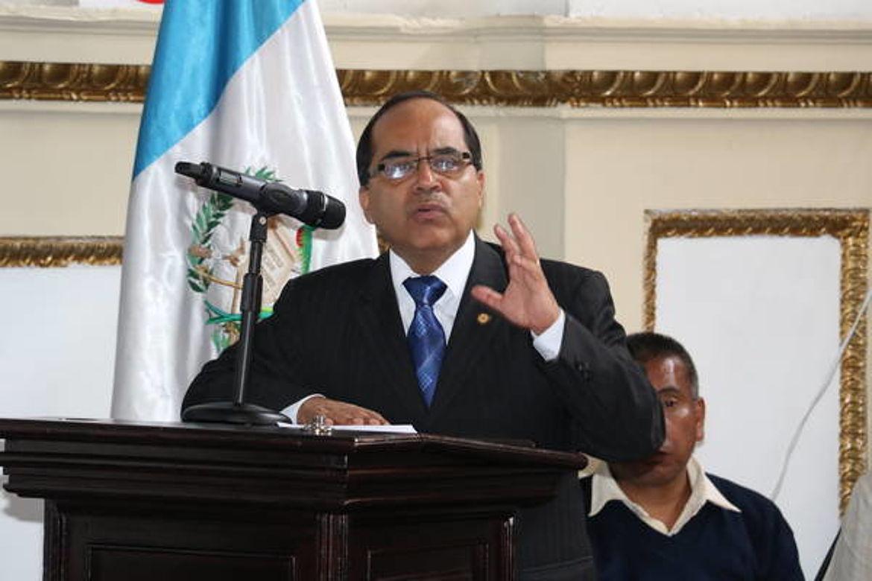 Oscar Hugo Lopez Rivas, Ministro de Educación de Guatemala