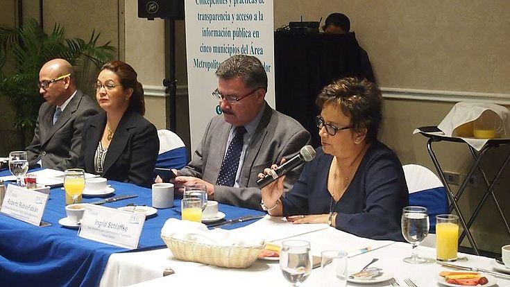 Concepciones y prácticas de transparencia y acceso a la información pública en cinco municipios del Área Metropolitana de San Salvador