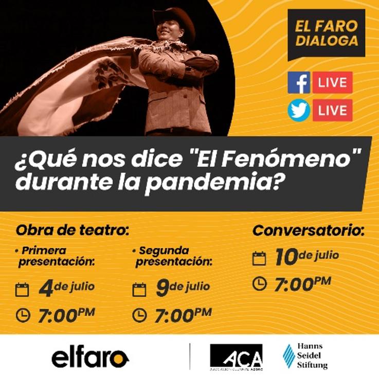 """Jornada de presentaciones virtuales de la obra """"El Fenómeno"""""""