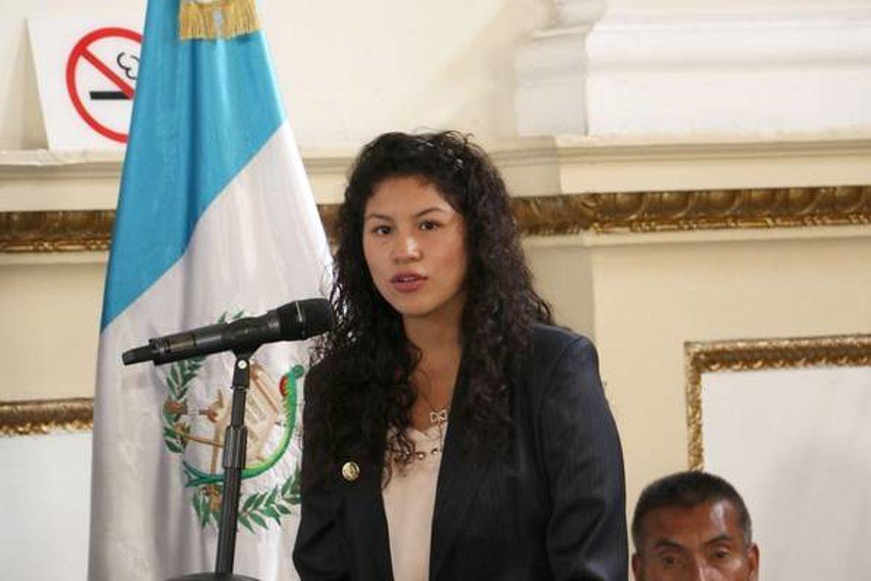 Percida Nohemí Hernández, Presidenta de Parlamento Juvenil 2016