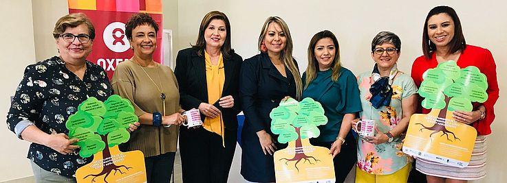 Foto por HSS// Hanns Seidel Stiftung une esfuerzos junto al GPM desarrollando actividades para reforzar el conocimiento de los derechos, especialmente los de las mujeres salvadoreñas.