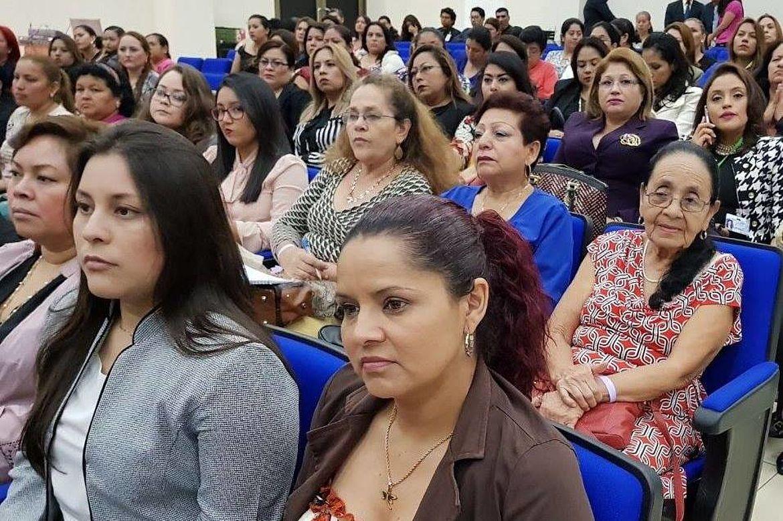 Vista de los participantes del evento