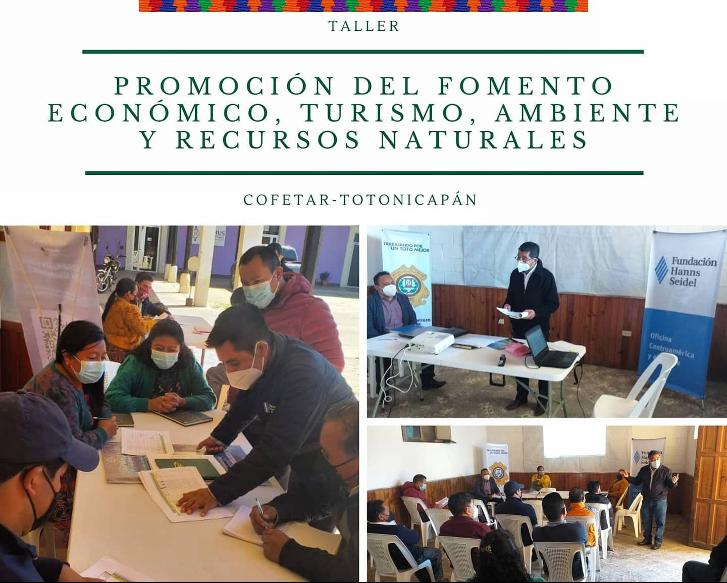 Realizamos un taller dirigido a emprendedores del municipio de Totonicapán